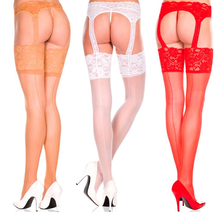Sexiga Leggings Erotiska Klipp