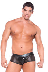 Herr - Wetlook Shorts, Black - O/S